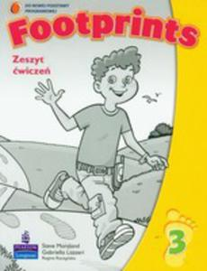 Footprints 3 - Zeszyt Ćwiczeń Plus Poradnik Dla Rodziców [Zeszyt Ćwiczeń Z Poradnikiem Dla Rodzic] - 2839265860