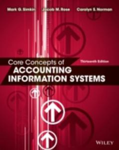 Core Concepts Of Accounting Information Systems - 2849505997