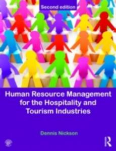 Human Resource Management For The Hospitality And Tourism Industries - 2840036525