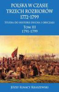 Polska W Czasie Trzech Rozbiorów 1772-1799 - 2840184287
