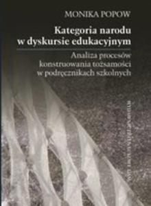 Kategoria Narodu W Dyskursie Edukacyjnym - 2848194057
