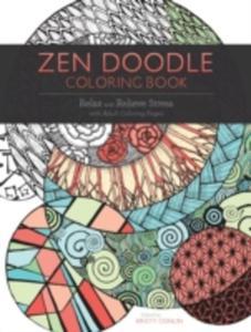 Zen Doodle Coloring Book - 2860209264