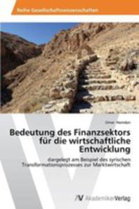 Bedeutung Des Finanzsektors Fur Die Wirtschaftliche Entwicklung - 2857129086
