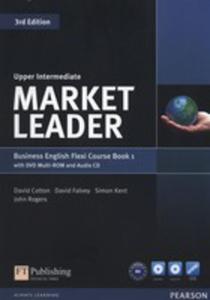 Market Leader Upper-intermediate Flexi Course Book 1+cd +dvd - 2846050034