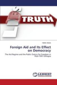 Foreign Aid And Its Effect On Democracy - 2857253460