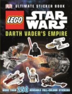 Lego Star Wars Darth Vader's Empire Ultimate Sticker Book - 2840062344