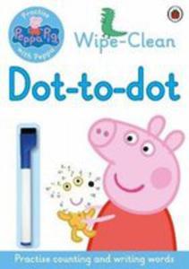 Peppa: Wipe-clean Dot-to-dot - 2854648262
