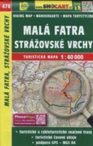 Mala Fatra Strazovske Vrchy 1:40 000 - 2840348729