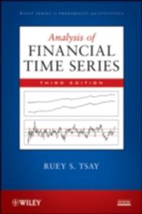 Analysis Of Financial Time Series - 2846736045