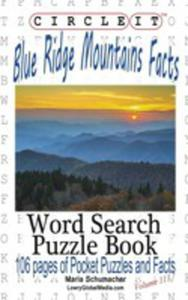 Circle It, Blue Ridge Mountains Facts, Word Search, Puzzle Book - 2853976824