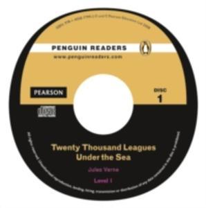 Twenty Thousand Leagues Under The Sea Plus Audio Cd [Książka Z Płytą Cd] - 2849896256
