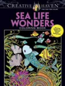 Creative Haven Sea Life Wonders Coloring Book - 2844461018