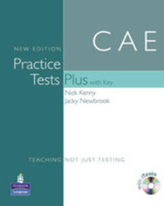 Practice Tests Plus Cae - Book (Key) Plus Itest Cd-rom Plus Audio Cd [Książka Z Kluczem Plus Itest Cd-rom Plus Audio Cd] - 2839265994