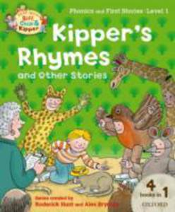Oxford Reading Tree Read With Biff, Chip And Kipper: Level 1 Phonics And First Stories: Kipper's Rhymes And Other Stories - 2839977341