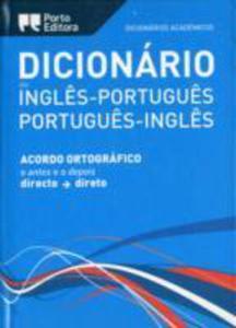 English - Portuguese & Portuguese - English Academic Dictionary - 2839994162