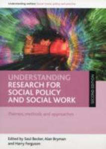 Understanding Research For Social Policy And Social Work - 2842828463