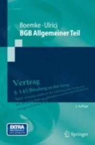Bgb Allgemeiner Teil - 2857113567