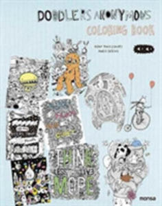 Doodlers Anonymous Colouring Book - 2844457628