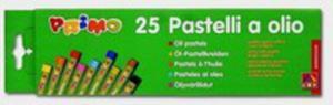 Pastele Olejne Okrągłeprimo 25 Sztuk - 2839843521