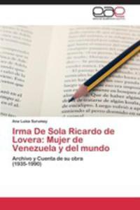 Irma De Sola Ricardo De Lovera - 2857126017