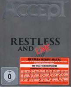 Restless & Live -cd+dvd- - 2845364493