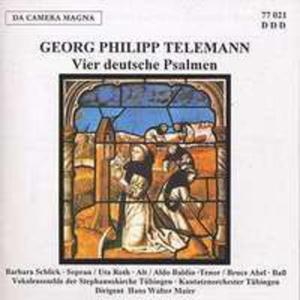 Vier Deutsche Psalmen - 2839499107