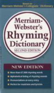 Merriam - Webster's Rhyming Dictionary - 2840069544