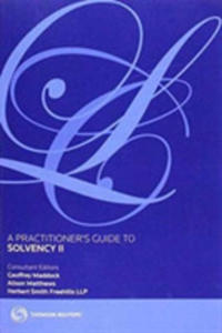 A Practitioner's Guide To Solvency II - 2846073088