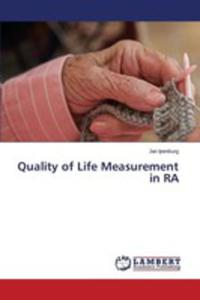 Quality Of Life Measurement In Ra - 2857257235