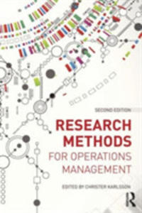 Research Methods For Operations Management - 2846086200