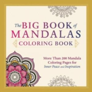 The Big Book Of Mandalas Coloring Book - 2840061896