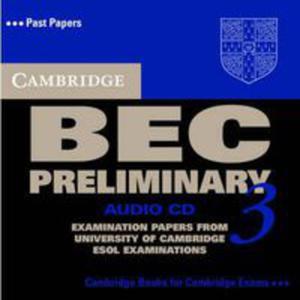 Cambridge Bec 3 Preliminary: : Audio Cd - 2839762313