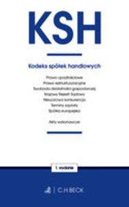 Kodeks Spółek Handlowych Oraz Ustawy Towarzyszące - 2855090717