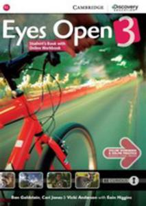 Eyes Open 3 Student's Book With Online Workbook - 2870939011