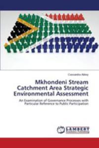 Mkhondeni Stream Catchment Area Strategic Environmental Assessment - 2857253407
