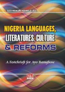 Nigerian Languages, Literatures, Culture And Reforms - 2853968466
