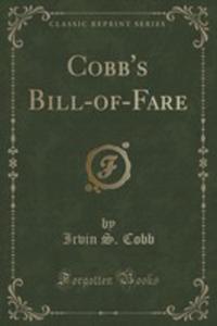 Cobb's Bill-of-fare (Classic Reprint) - 2855206368