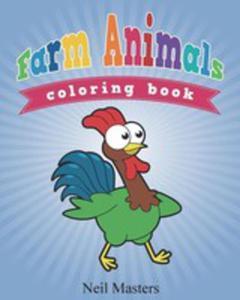Farm Animals Coloring Book - 2852937510