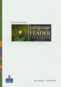 Language Leader Pre-intermediate - Coursebook Plus Cd-rom [Książka Ucznia Plus Cd-rom] - 2839265748