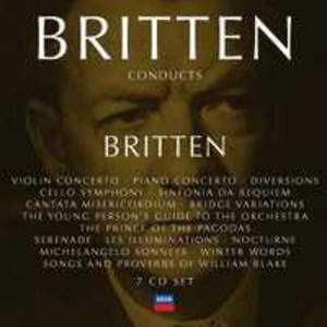 Britten Conducts Britten Vol.4 - 2839220079