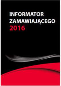 Informator Zamawiającego Nowe Wskaźniki Od 1.01.2016 - 2840339876