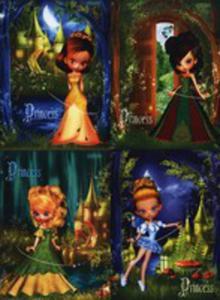Zeszyt A5 Top - 2000 W Kratkę 16 Kartek Princess Mix - 2839843458