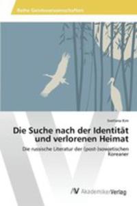 Die Suche Nach Der Identität Und Verlorenen Heimat - 2853022289