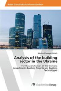 Analysis Of The Building Sector In The Ukraine - 2857256718