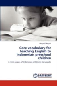 Core Vocabulary For Teaching English To Indonesian Preschool Children - 2860291288