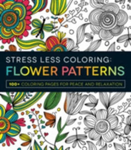 Stress Less Coloring Flower Patterns - 2840396042