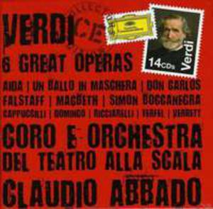 Verdi 6 Great Operas (Collectors Edition) - 2839291543