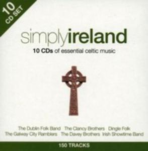 Simply Ireland - 10cd - - 2839344401