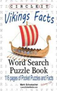Circle It, Vikings Facts, Word Search, Puzzle Book - 2853982506