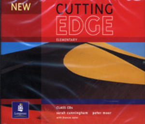 New Cutting Edge Elementary - Class Cd [Zestaw Płyt Do Kursu] - 2839265944